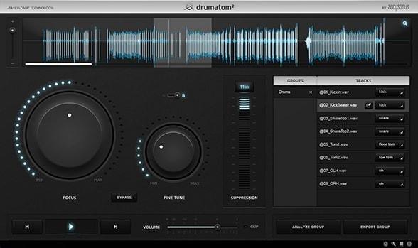 Genuine License Accusonus Drumatom 2 Digital Delivery Drumatom Player