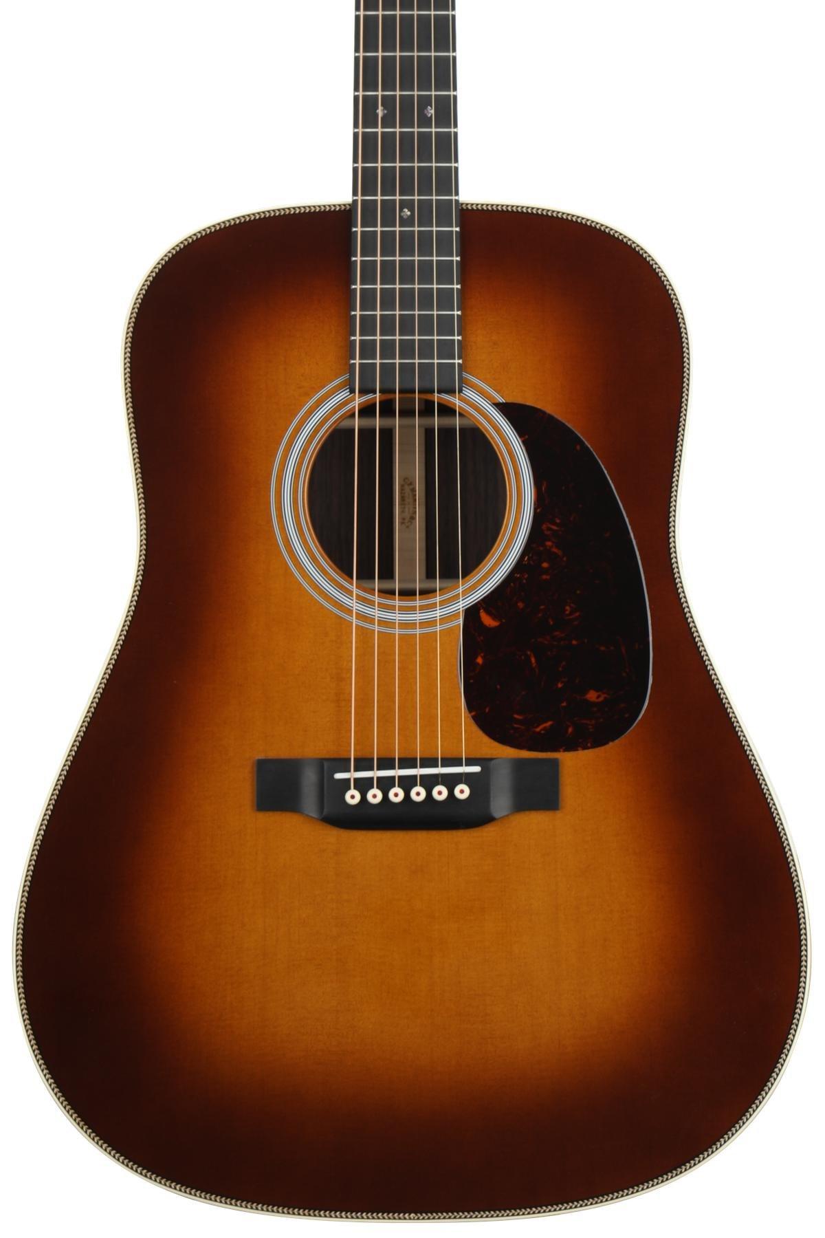 Martin Hd 28 Acoustic Guitar Ambertone Sweetwater