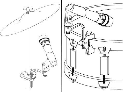 Shure A56d Universal Microphone Drum Mount