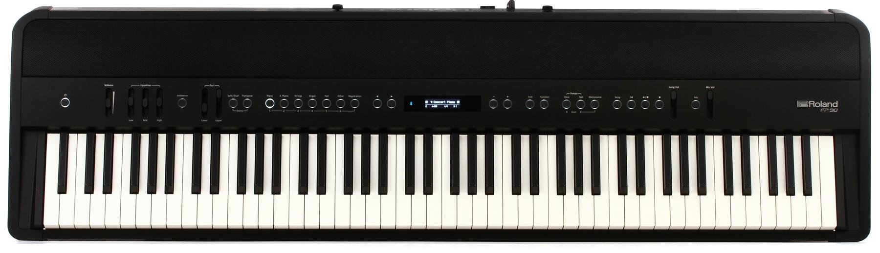 Roland Fp 90 Digital Piano Black Sweetwater