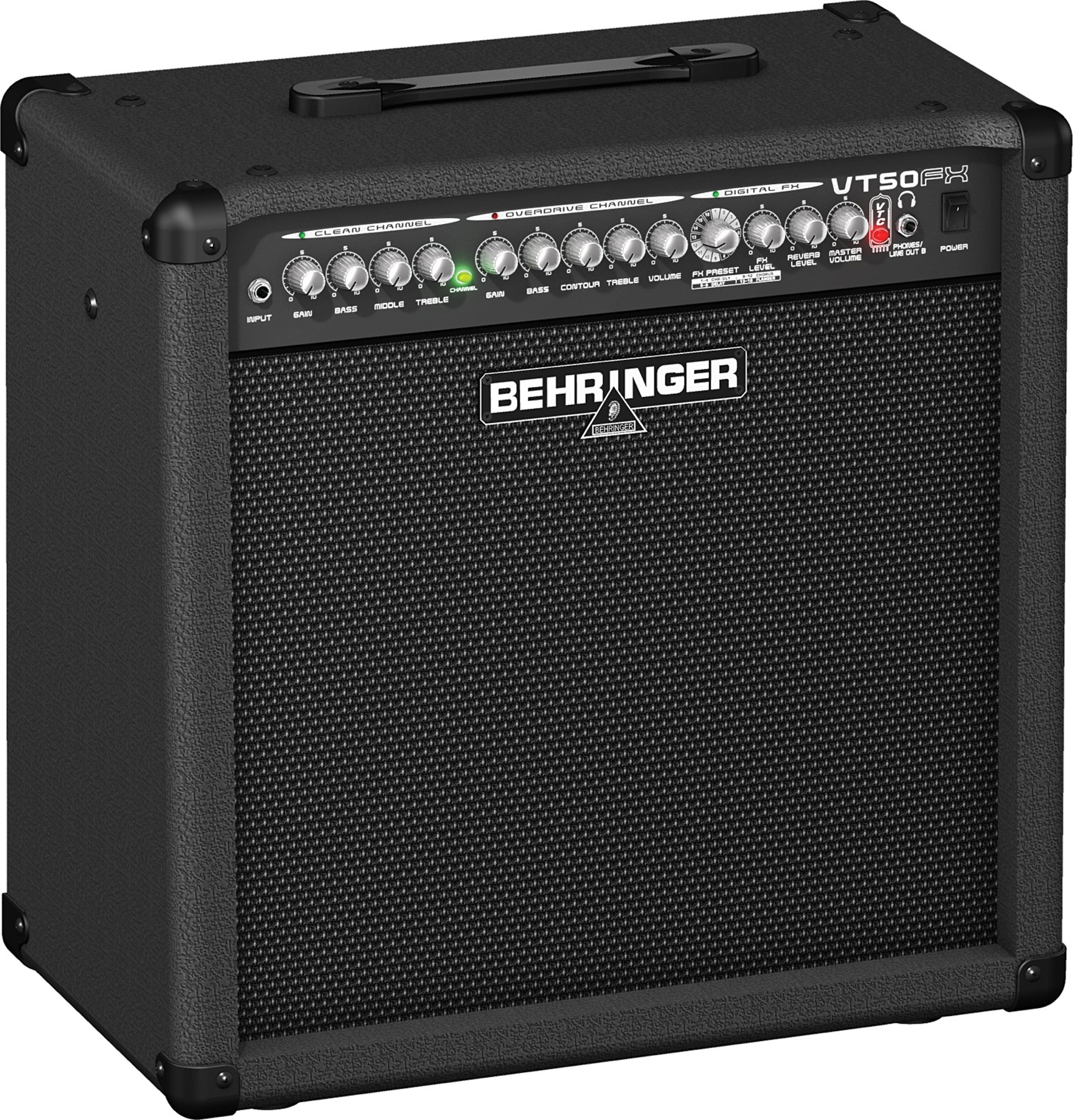 Behringer Vt50fx 1x12 50 Watt Combo With Fx Sweetwater Watts Audio Power Amplifier Image 1