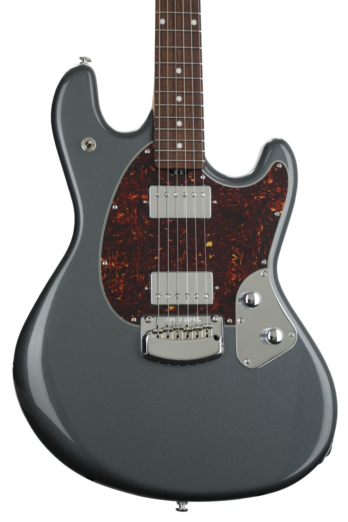 Ernie Ball Music Man Stingray Rs Charcoal Frost Sweetwater