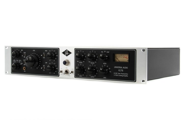 Sweetwater's advice: if you want to make great-sounding music, you need a  great front end: the Universal Audio 6176.
