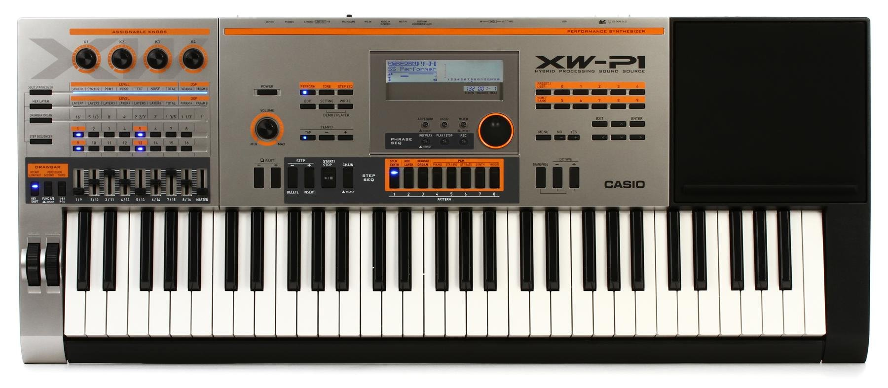 Casio XW-P1 Performance Synthesizer | Sweetwater