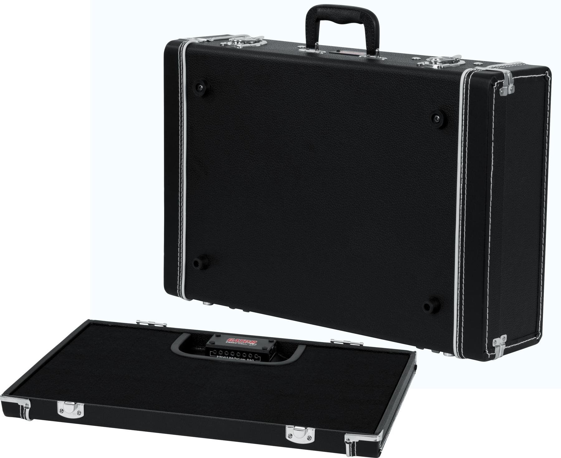 Gator Gig Box Jr Power All in one Pedalboard w 3x Guitar Stand