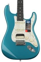 Fender American Elite Stratocaster HSS Shawbucker - Ocean Turquoise with Ebony Fingerboard
