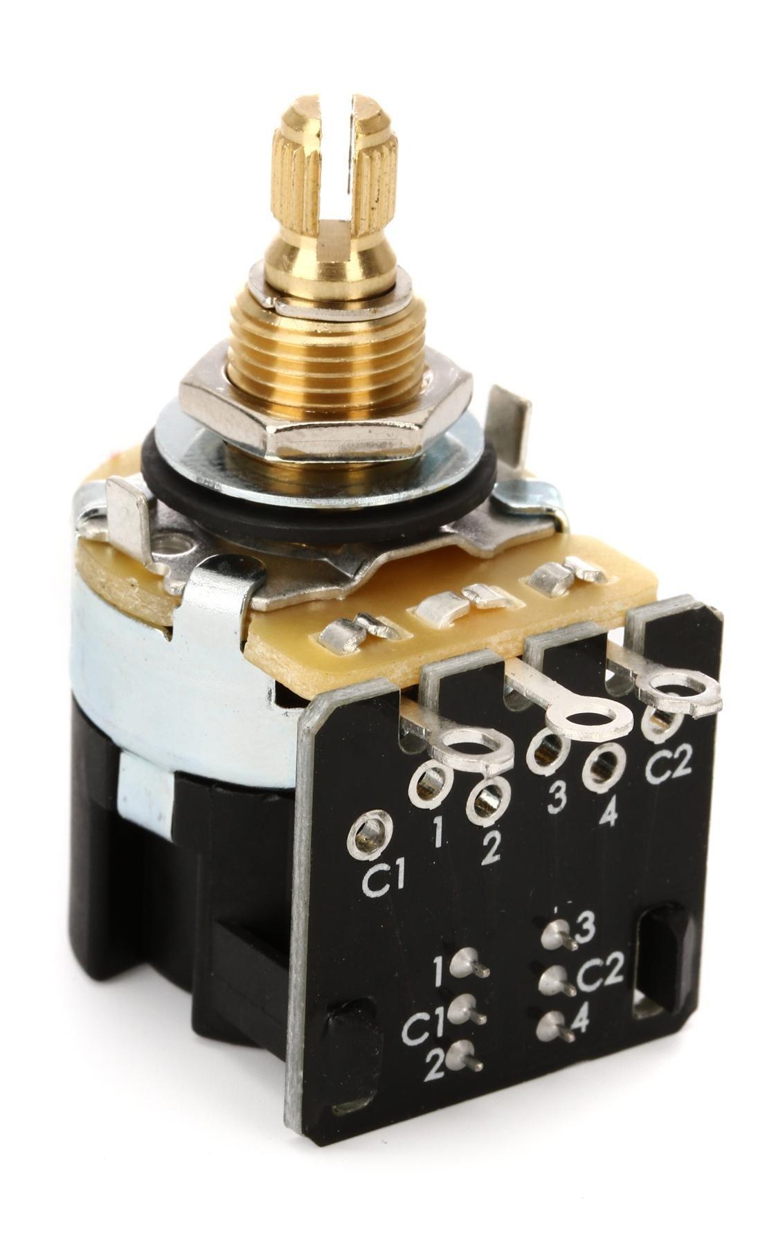 Mojo Tone CTS Push-pull Potentiometer - Short Shaft - 500k | Sweetwater