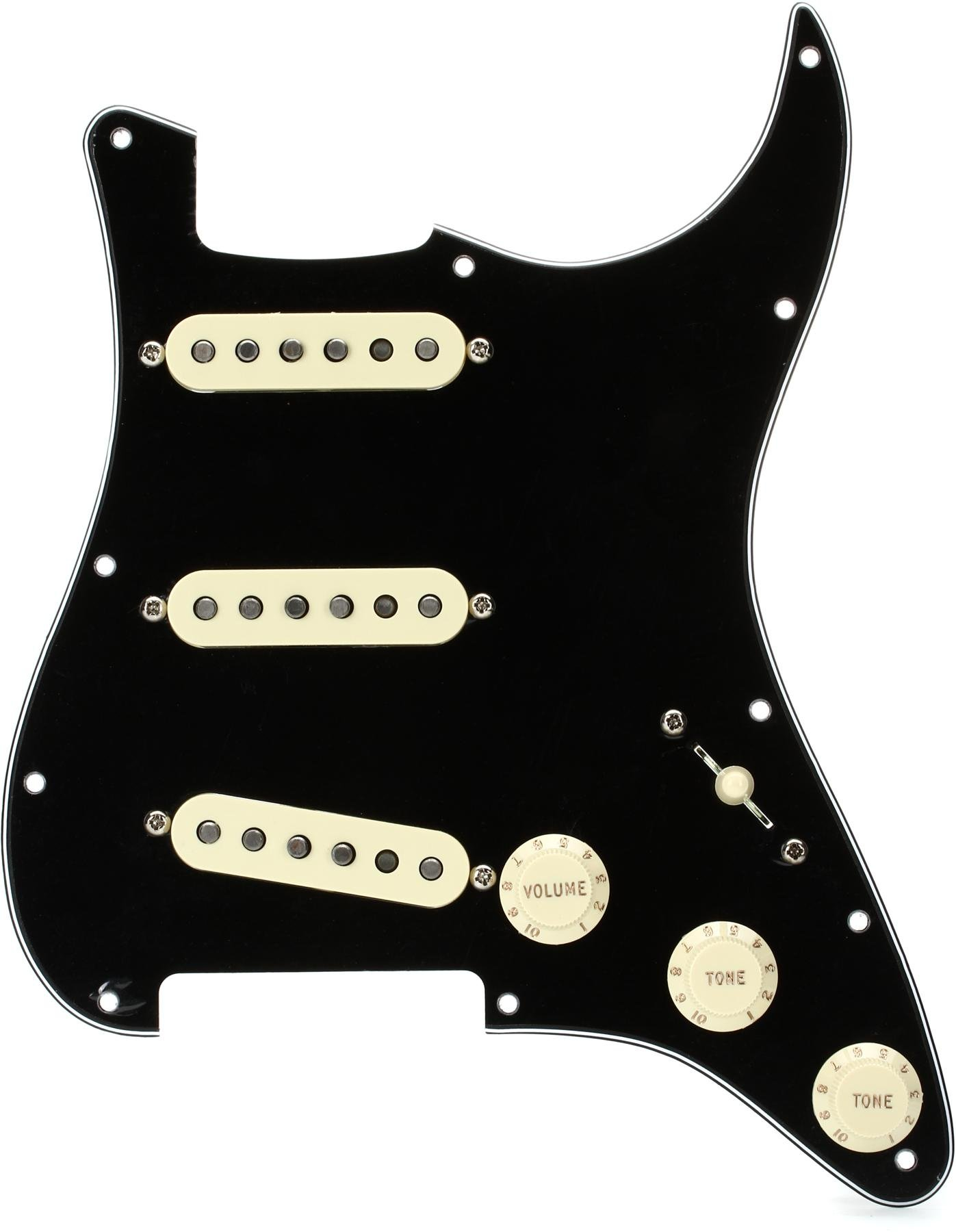 Fender /'57 Strat Pickguard 099-2143-000 NEW S//S//S GOLD ANODIZED