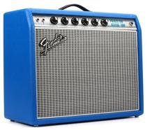 Fender '68 Custom Princeton Reverb Electric Blue 12-watt 1x10