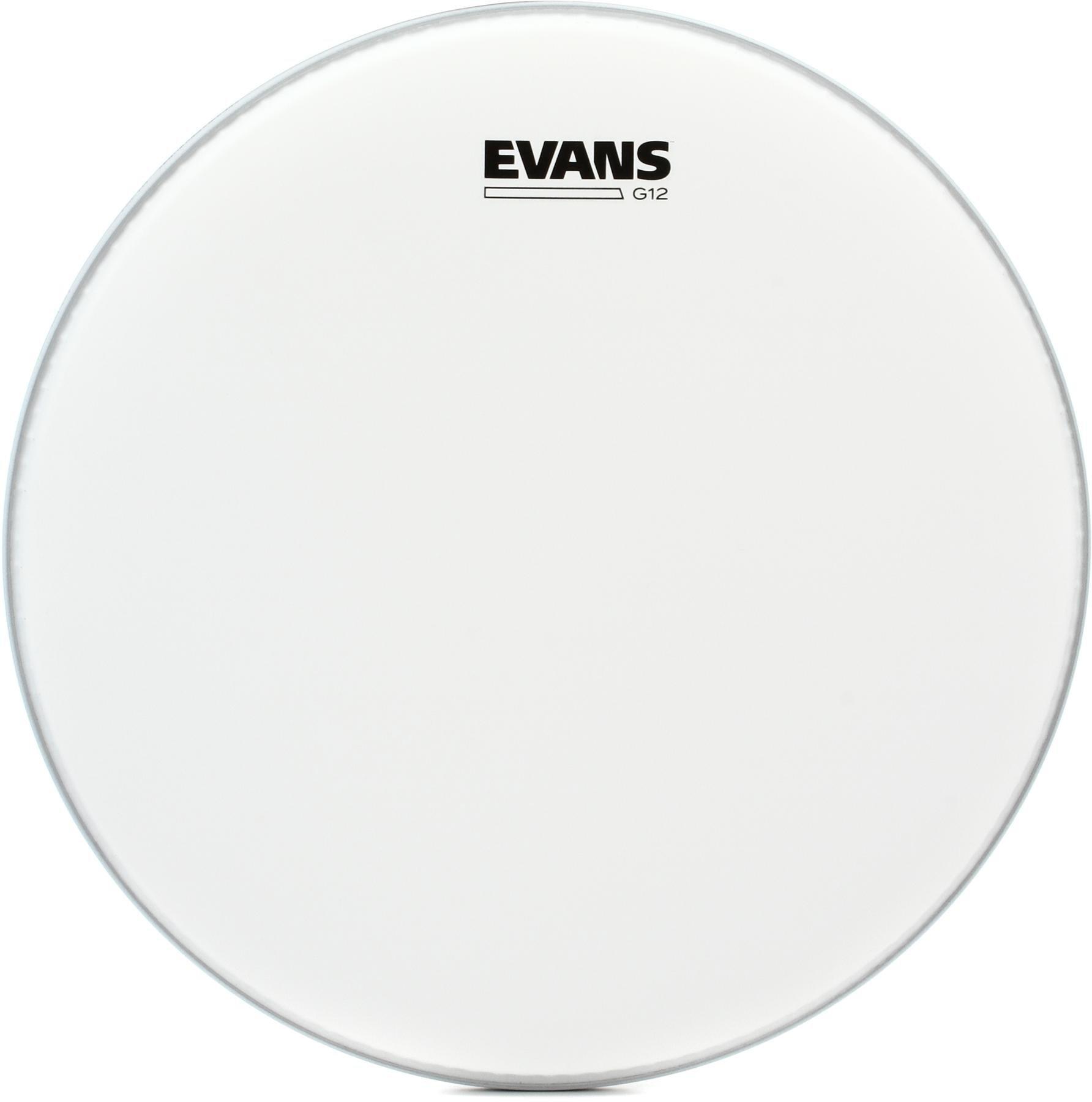 "Evans 14/"" G12 Clear Drum Head"