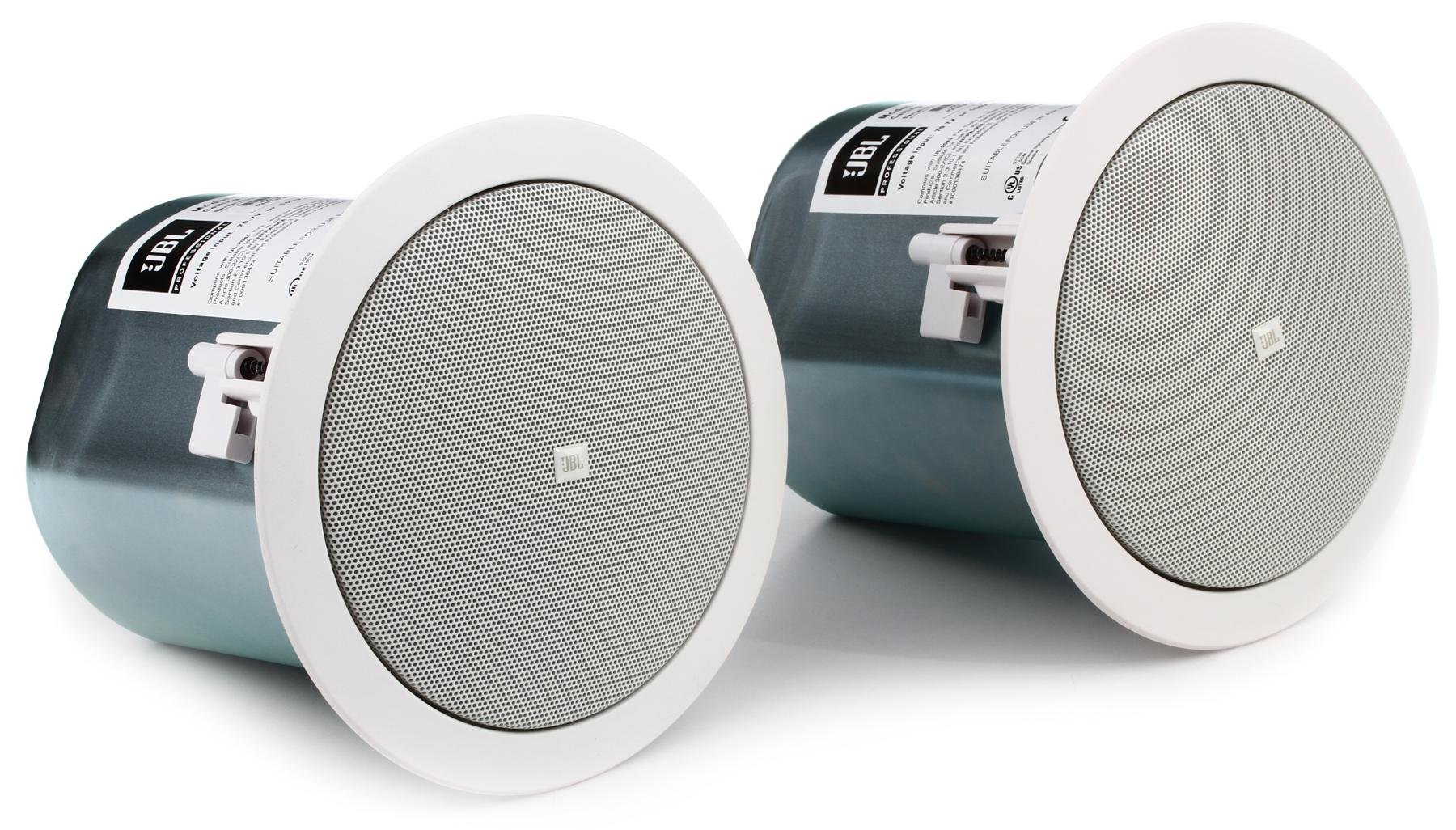 pro in mm front ceiling commercial series jbl speakers
