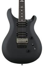 PRS SE Custom 24 Floyd Rose, Sweetwater Exclusive - Flat Black