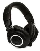 Audio-Technica ATH-M50x Closed-back Studio Monitoring Headphones