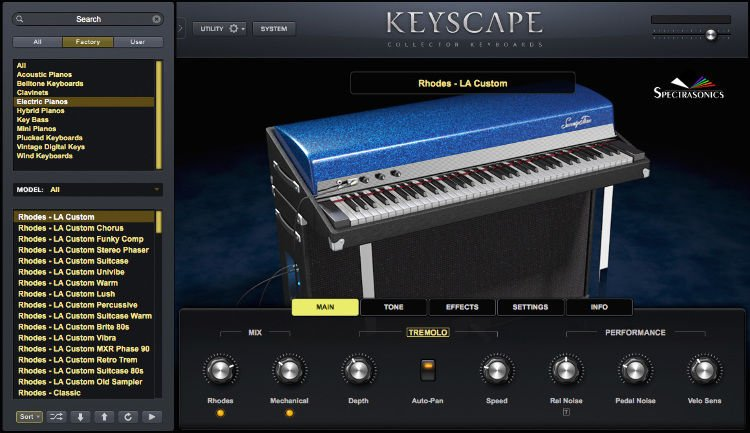 Spectrasonics Keyscape Collector Keyboards (Boxed) | Sweetwater