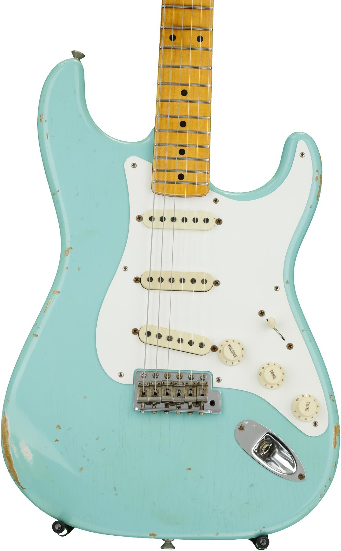 Fender Custom Shop 1956 Stratocaster Heavy Relic - Faded Seafoam ...