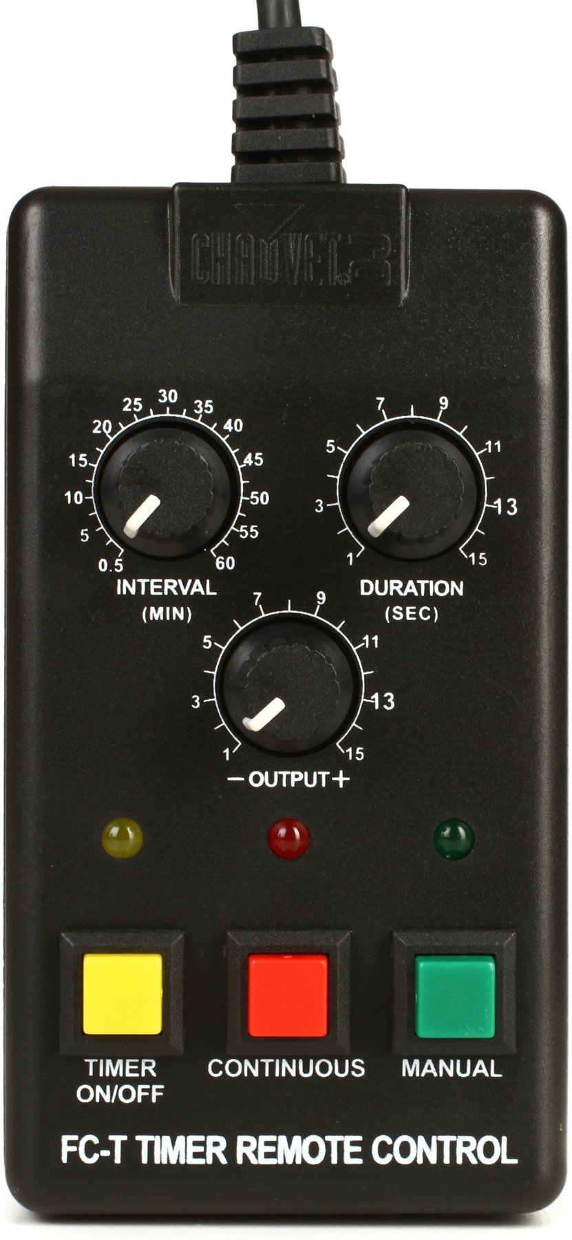 Chauvet Dj Fc T Timer Remote Control Sweetwater Amplifier Image 1
