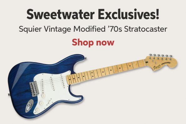 Electric Guitars Sweetwater