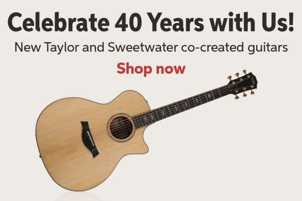 Acoustic Guitars | Sweetwater