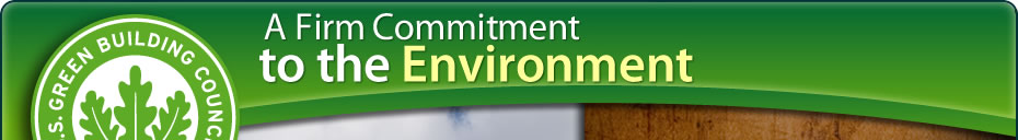 A Firm Commitment to the Environment