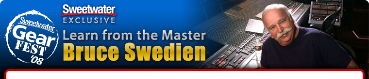 Learn from the Master - Bruce Swedien