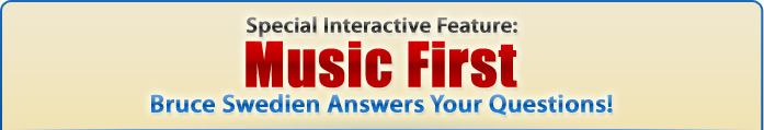 Special Interactive Feature: Music First - Bruce Swedien Answers Your Questions!