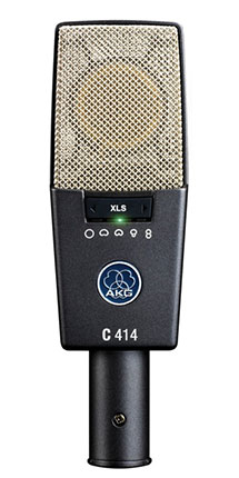 C414 XLS Large-diaphragm Condenser Microphone