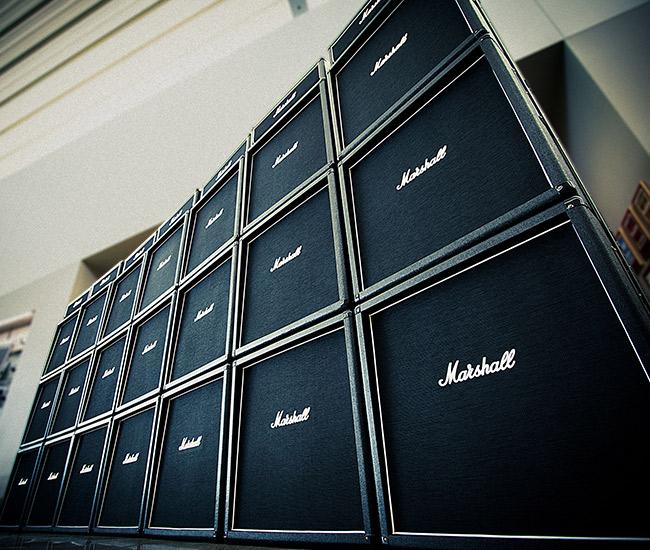 Marshall Amp Wall