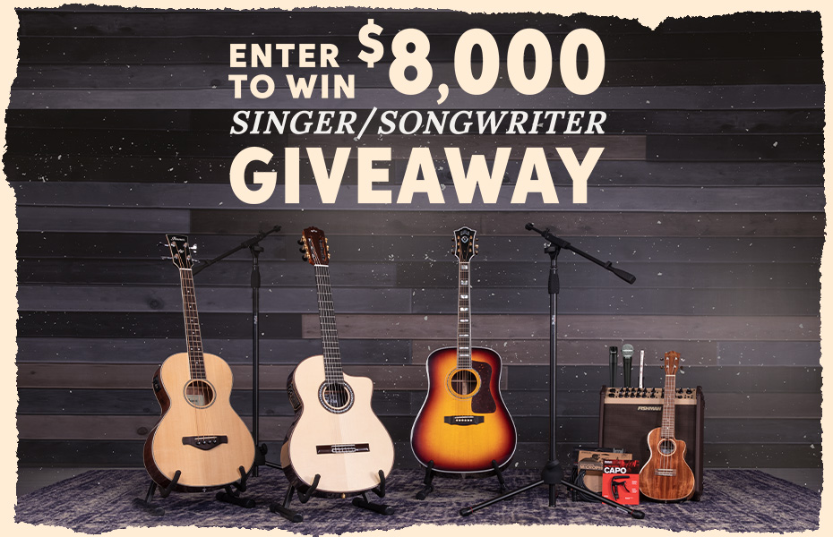 Sweetwater's Monthly Giveaway!