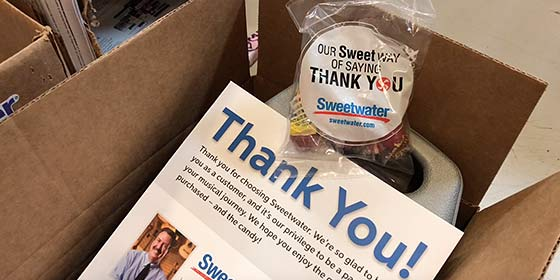 Shipping & Delivery | Help Center | Sweetwater