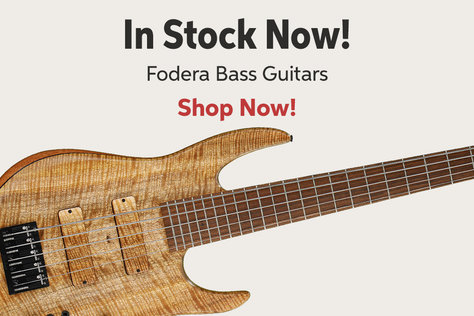 In Stock Now! Fodera Bass Guitars Shop Now!