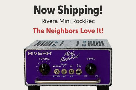Now Shipping! Rivera Mini RockRec The Neighbors Love It!