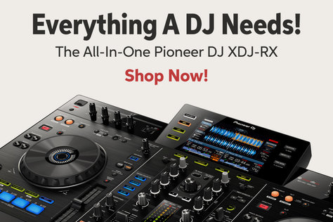 Everything A DJ Needs! The All-In-One Pioneer DJ XDJ-RX Shop Now!