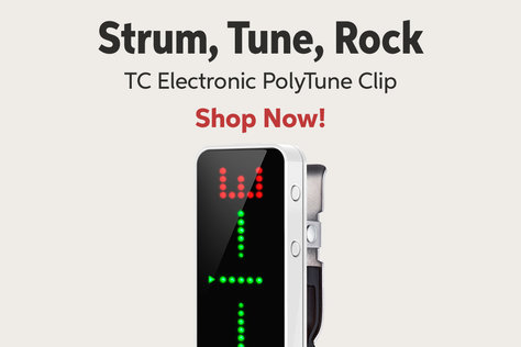Strum Tuna Rock TC Electronic PolyTune Clip Shop Now!