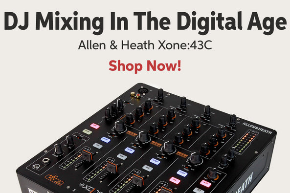 DJ Mixing In The Digital Age Allen 8i Heath Xone243C Shop Now!