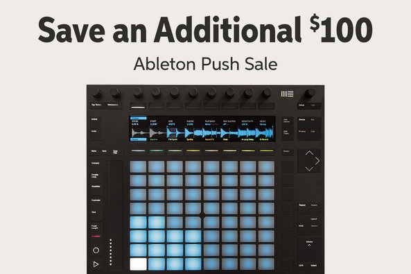 Save an Additional s100 Ableton Push Sale