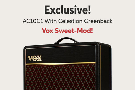 O Excluswe! AC10C1 With Celestion Greenback Vox Sweet-Mod!