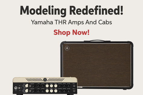 Modeling Redefined! Yamaha THR Amps And Cabs Shop Now!