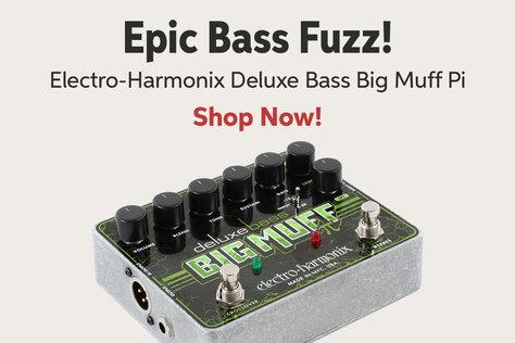 Epic Bass Fuzz! Electro-Harmonix Deluxe Bass Big Muff Pi Shop Now!