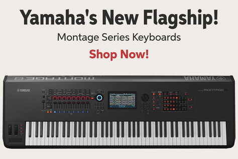 Yamahaes New Flagship! Montage Series Keyboards Shop Now!