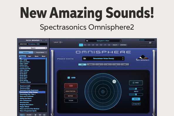 New Amazing Sounds! Spectrasonics OmnisphereZ