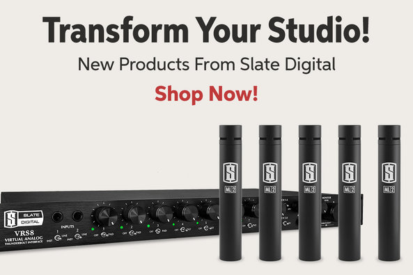 Transform Your Studio! New Products From Slate Digital Shop Now!