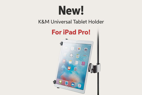New! K8 M Universal Tablet Holder For iPad Pro!