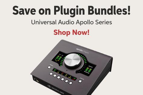 Save on Plugin Bundles! Universal Audio Apollo Series Shop Now!