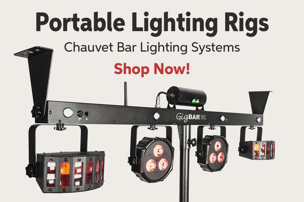 Portable Lighting Rigs Chauvet Bar Lighting Systems Shop Now!