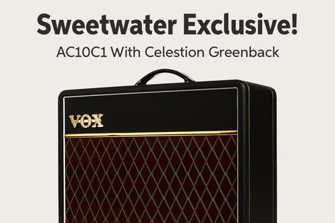 Sweetwater Exclusive! AC10C1 With Celestion Greenback 2._