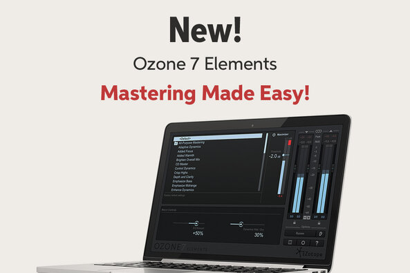 New! Ozone 7 Elements Mastering Made Easy!