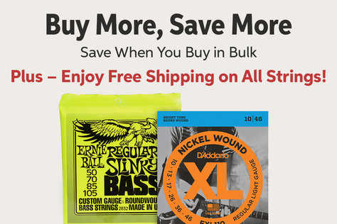 Buy Morei Save More Save When You Buy in Bulk Plus - Enjoy Free Shipping on All Strings!