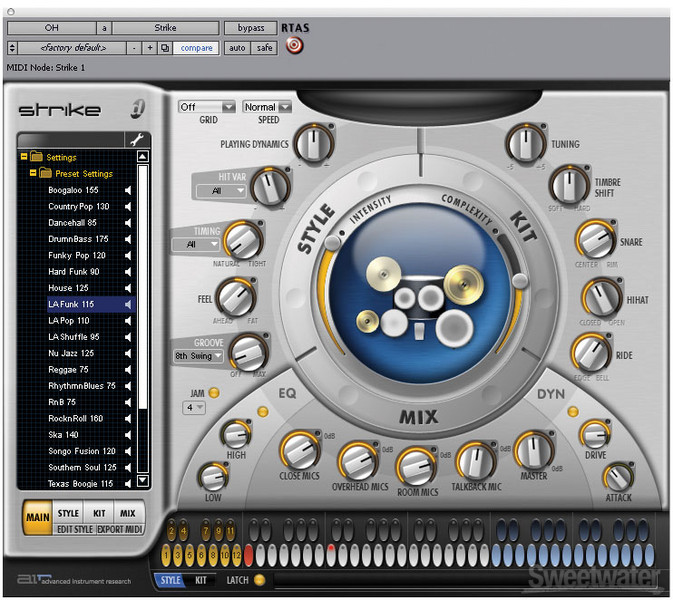 AIR Pro Tools Instrument Expansion Upgrade from Strike 1.5 image 1
