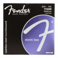 Fender Accessories 7350M Stainless Steel Roundwound Long Scale Medium Bass Strings7350M Stainless Steel Roundwound Long Scale Medium Bass Strings
