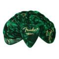 Fender Accessories 351 Shape Premium Celluloid Picks - Heavy Green Moto - 12-Pack351 Shape Premium Celluloid Picks - Heavy Green Moto - 12-Pack